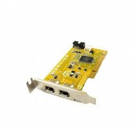 Adaptor PCI FireWire IEEE-1394A, low profile bracket
